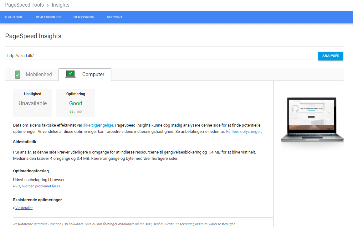 google-pagespeed-insight